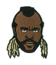 Mr. T Iron-on Patch Tee 80s 1980s Toy A-team Cartoon Mike Tyson Punch Out Mister