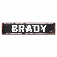 SLND0411 BRADY CAVE Street Chic Sign Home man cave Decor Gift