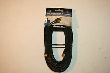 25 foot RG59 Coaxial Video Cable gold plated F connectors TV VCR Cable Box other