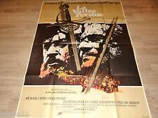 LA VALLEE PERDUE the last valley   ! james clavell michael caine affiche cinema