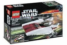 LEGO STAR WARS A-Wing Fighter Set 6207 New Sealed A-Wing Pilot Minifig