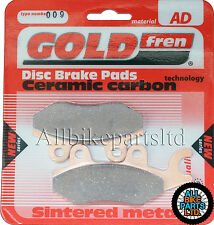 TRIUMPH 1050 TIGER (2007-2013)   REAR BRAKE PADS   GOLDFREN SINTERED CERAMIC