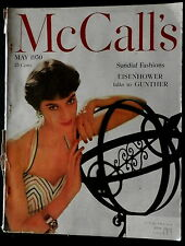 McCall's Magazine May 1950 WOMEN'S INTERESTS - STORIES - FASHIONS - COCA-COLA