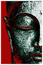Buddha Face Poster Art Print by Poster Heaven 11x17 Limited Edition