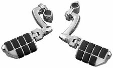 """New Kuryakyn Longhorn Offset Dually Highway Pegs w/1.5"""" Magnum Quick Clamp 4574"""