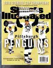2016 Sidney Crosby Pittsburgh Penguins Sports Illustrated Commemorative