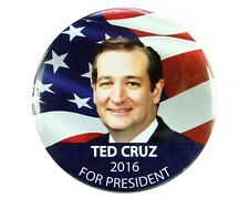 "2016 TED CRUZ for PRESIDENT 2.25"" CAMPAIGN BUTTON, tcf"