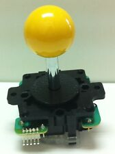 Japan Sanwa Joystick Yellow Ball Top Arcade Parts JLF-TP-8Y-Y