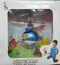 Angry Bird Blue Flying Hand Sensor Remote Control Helicopter Toy Kids Movie Toys