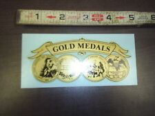 large gold medals water release decal stock # 200