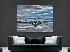 BOEING 737 AEROPLANE AIRCRAFT WALL POSTER ART PICTURE PRINT LARGE HUGE