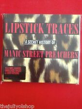 2 cd MANIC STREET PREACHERS....LIPSTICK TRACES A SECRET HISTORY OF MSP..........