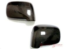 REAL 3D GLOSSY CARBON FIBER SIDE MIRROR COVER CAP FOR TOYOTA MR2 SPYDER MR-S JDM