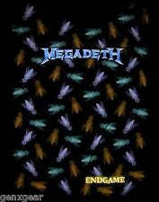 MEGADETH cd lgo ENDGAME FLIES Official Babydoll SHIRT MED New OOP end game