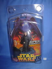 Star Wars 2005 Chancellor Palpatine Supreme Chancellor w/Clamshell Case 3.75""