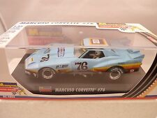 Revell #854864 MONOGRAM MODEL RACING MANCUSO CORVETTE # 76 1:32 SLOT CAR