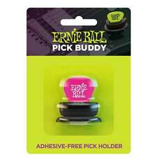 Ernie Ball Pick Buddy Adhesive Free Pick Holder with FREE Everlast Plectrum