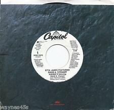 ETTA JAMES & DAVID A. STEWART * 45 * 1989 *  Title ?? * UNPLAYED MINT DJ PROMO