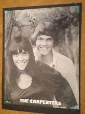 the carpenters vintage posters Frank Kay 1970's Richard Karen photo picture 70's