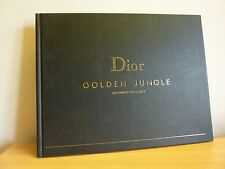 DIOR * GOLDEN JUNGLE * Automne / Fall 2012 Catalogue luxueux