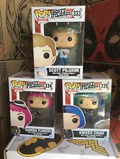 Scott Pilgrim Funko Pop! Movies Set of 3 Ramona Flowers Knives Chau 333 334 335