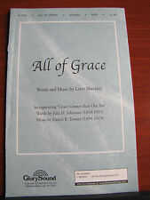 All of Grace - 2003 sheet music - vocal, piano, guitar chords - gospel A 7702