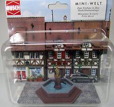 Busch 7728 Mini Welt: Marktbrunnen HO