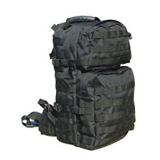 CONDOR MOLLE Modular Tactical Nylon Medium Assault Back Pack Backpack 129- BLACK