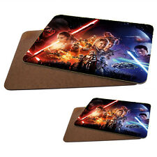 Star Wars MDF Hard Backed Placemat & Coaster Set