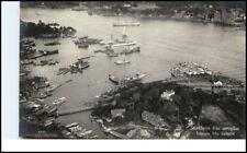 STOCKHOLM Sverige Brefkort ~1930 Flygfoto fran Aeroplan alte Postkarte