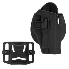 Outdoor Tactical Gear Pouch Right Hand Gun Holster for Sig Sauer P226 P229 Black
