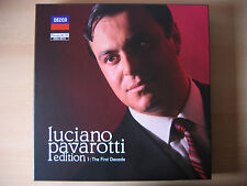 Pavarotti Edition: The First Decade (Ltd.Edt.) von Luciano Pavarotti (2014)