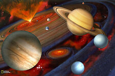 Brewster National Geographic Planets Murals NG94613