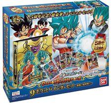 21683 REG Dragon Ball Heroes 9 pocket Binder Set Super God warrior of fiercefig