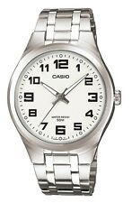 Casio MTP-1310D-7BVEF Quartz Analogue White Dial Silver Steel Gents Men's Watch