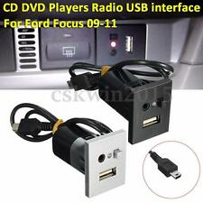CD DVD Players Radio USB Interface Modification Panel For Ford Focus 09-11