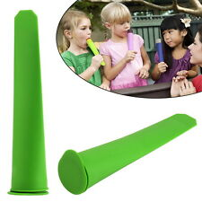 Silicone Push Up Ice Cream Jelly Lolly Pop For Popsicle Maker Mould Mold DIY FT
