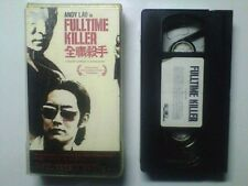 FULLTIME KILLER (VHS) w/ Andy Lau (HOUSE OF FLYING DAGGERS, THE WARLORDS) RARE B