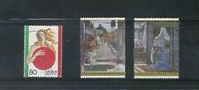 JAPAN 2001 ITALY IN JAPAN COMP. SET OF 3 STAMPS IN FINE USED CONDITION
