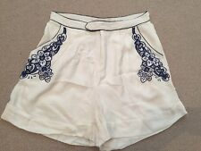 Alice mccall taille haute brodé short taille 12