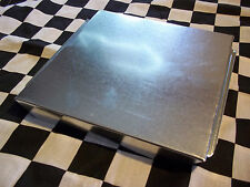 1 NEW - 10 X 10 INCH HVAC DUCT END CAP GALVANIZED SHEET METAL BUILDING SUPPLY