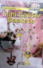 Mini Easter Baskets by Vicki Blizzard Plastic Canvas Needlepoint