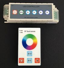 Effects Controller Dimmer RGB LED Lighting 12 Volt DC Hand Remote Color Wheel
