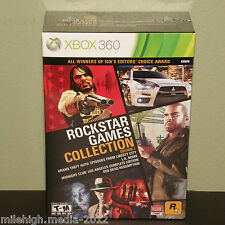 New!~Rockstar Games Collection Edition 1 (Xbox 360) GTA/LA Noire/Red Dead Redemp