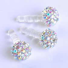1pc 3.5mAb Crystal Ball Anti Dust Plug Stopper for iPhone4/4s Cellph S*
