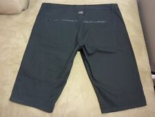 045 MENS NWT G-STAR RAW HARBOUR STR8 FIT BLACK CARGO SHORTS 40 $160.