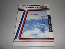 1979 4 hp Genuine Evinrude Johnson Outboard Repair & Service Manual 4hp