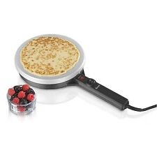 SWAN NON STICK GRIDDLE CREPE AND PANCAKE BATTER BREAKFAST HOT CAKE MAKER MACHINE