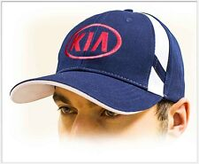 KIA unisex Baseball Cap Hat. 100% cotton. Dark blue color. Adjustable size!!!