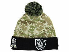 Oakland Raiders NFL 2015 New Era Salute To Service  ADULT  Knit Hat Cap